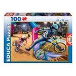 Educa Borras -  Puzzle 100 pièces BMX 8412668152694