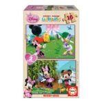 Educa Borras -  Puzzle 2x16 pièces Minnie 8412668152786