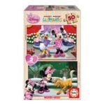 Educa Borras -  Puzzle 2x50 pièces Minnie boutique 8412668152809
