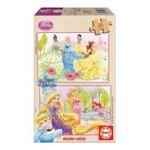 Educa Borras -  Puzzle 2x16 pièces Princesses 8412668152830