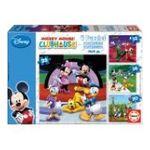 Educa Borras -  Puzzle progressif mickey mouse 8412668152885