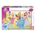 Educa Borras -  Puzzle 200 pièces princesses 8412668152977