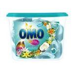 Omo - OMO |  lessive capsule liquide  fleurs de coco et frangipanier rose concentre 8711600856943