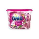 Omo - OMO |  lessive capsule liquide  fleurs des tropiques et magnolia concentre 8711600881051