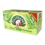 Lipton -  elephant infusion sachets individuels dans boite carton biologique ab 25 sachets sachet verveine  8712566151592