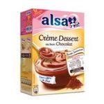 Alsa -  ALSA |  preparation pour dessert boite carton avec sachet chocolat 2 doses creme dessert  8712566337712