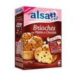 Alsa -  ALSA |  preparation pour gateau boite carton avec sachet nature 1 dose pepites de chocolat brioche  8712566368433