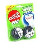 La Croix -  croix wc produit wc blister 2ctbleu reservoir immerge bloc colorant et javelisant  8714789020310