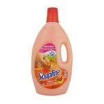 Soupline - SOUPLINE |  adoucissant de tissu flacon plastique lait peche et amande douce orange liquide  8714789649030
