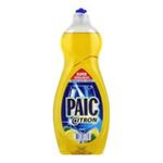 Paic - PAIC CITRON 750ML |  citron produit vaisselle a main flacon fermeture citron universel jaune liquide  8714789673370