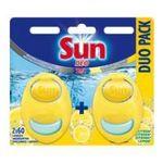Sun - SUN    deo 2 actions desodorisant lave-vaiselle blister citron  2ct solide  8717163973486