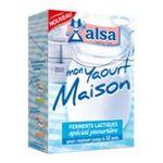 Alsa -  ALSA |  mon yaourt maison preparation pour dessert sachet dans boite carton 4 doses yaourt  8718114773155