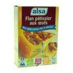 Alsa -  ET.FLANS PATISSIER AUX OEUFS 2X360G ALSA |  preparation pour dessert boite carton  2ct 2 doses flan patissier aux oeufs  8722700065302