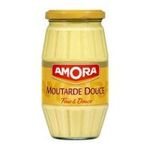 Amora -  BOC.5 MOUTARDE DOUCE 435G AMORA |  moutarde bocal verre sans decor douce france  8722700139201