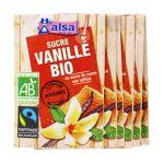 Alsa -  ALSA |  sucre vanille sachets individuels sous cellophane vanille biologique poudre  8722700206071