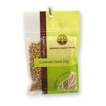 Gourmet Organic Herbs -  Gourmet Organic Coriander Seed  Sachet x 1 9332974000030
