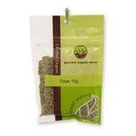 Gourmet Organic Herbs -  Gourmet Organic Sage  Sachet x 1 9332974000108