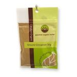 Gourmet Organic Herbs -  Gourmet Organic Cinnamon Ground  Sachet x 1 9332974000283