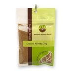 Gourmet Organic Herbs -  Gourmet Organic Nutmeg Ground  Sachet x 1 9332974000399