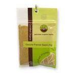 Gourmet Organic Herbs -  Gourmet Organic Fennel Ground  Sachet 9332974000795
