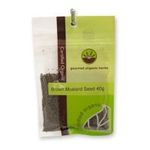 Gourmet Organic Herbs -  Gourmet Organic Mustard Seed Brown  Sachet 9332974000801