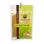 Gourmet Organic Herbs -  Gourmet Organic Mustard Seed Yellow  Sachet 9332974000818