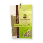 Gourmet Organic Herbs -  Gourmet Organic Lemongrass Powder  Sachet 9332974000887