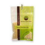 Gourmet Organic Herbs -  Gourmet Organic Garlic Granules  Sachet x 1 9332974001006