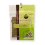 Gourmet Organic Herbs -  Gourmet Organic Aniseed Whole  Sachet x 1 9332974001075